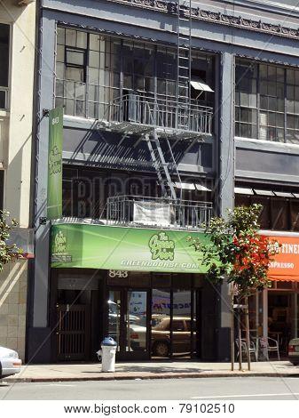 Green Door, Medical Marijuana Pot Shop Store In Soma