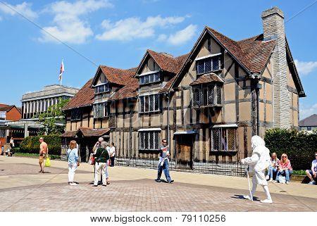 Shakespeares Birthplace, Stratford-upon-Avon, UK.