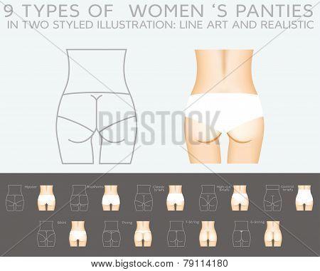 Underwear Vector Set