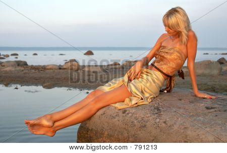 day at the seashore