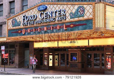 Chicago Oriental Theatre