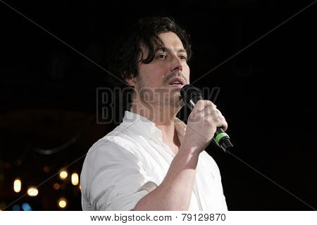 LOS ANGELES - DEC11: Zack Dobbins at Scott Nevins Presents SPARKLE: An All-Star Holiday Concert to benefit The Actors Fund at Rockwell Table & Stage on December 11, 2014 in Los Angeles, California