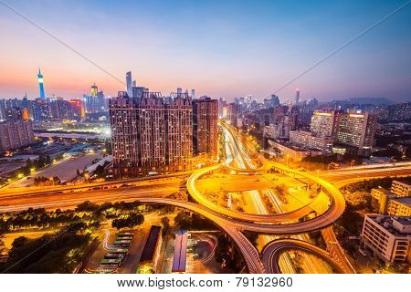 The Brilliant City Interchange