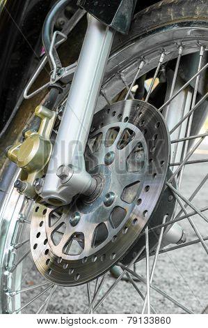 Disc Break Of Motorcycle