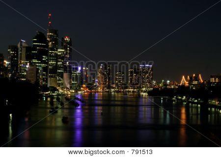 Brisbane City by Night
