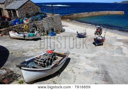 Sennen Cove Boats