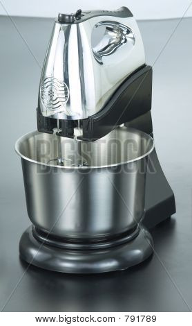 Stainless Steel Chrome Stand Mixer