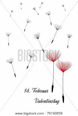 german valentine background