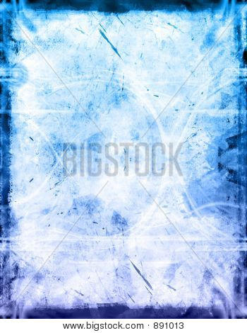 computer designed grunge textured border and background poster