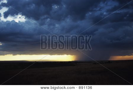 Storm Over The Mara