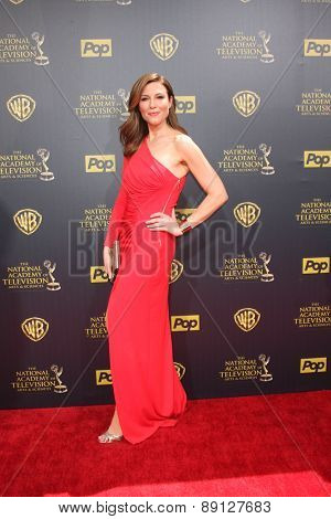 LOS ANGELES - APR 26:  Thea Andrews at the 2015 Daytime Emmy Awards at the Warner Brothers Studio Lot on April 26, 2015 in Burbank, CA