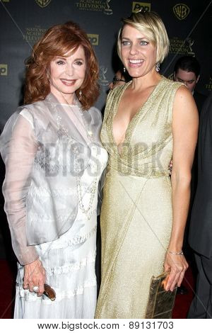 LOS ANGELES - APR 26:  Suzanne Rogers, Arianne Zucker at the 2015 Daytime Emmy Awards at the Warner Brothers Studio Lot on April 26, 2015 in Los Angeles, CA