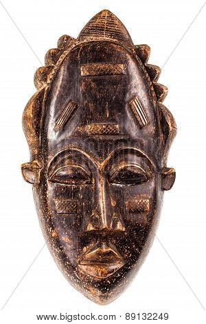 Ancient African Wooden Mask