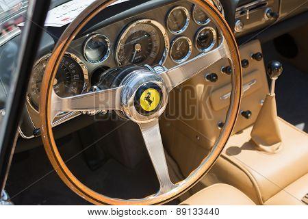 Ferrari Interior Car On Display