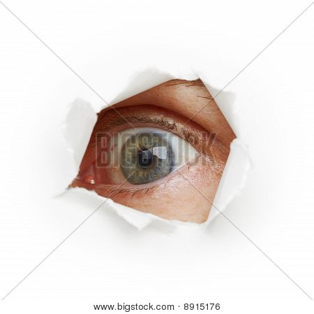 Voyeurism - Eye Spies Through A Hole