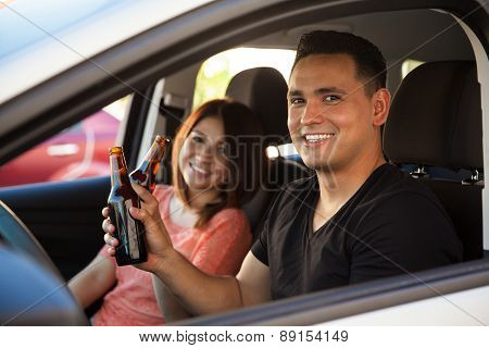 Reckless Adults Drinking And Driving