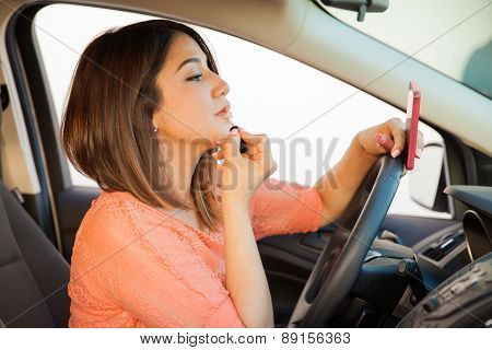 Reckless Female Driver