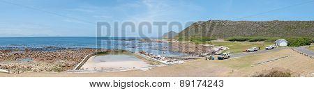 Beach Scene At Bordjiesrif At Cape Point.