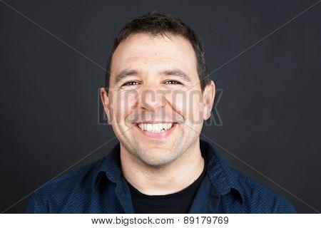 Smiling Friendly Man