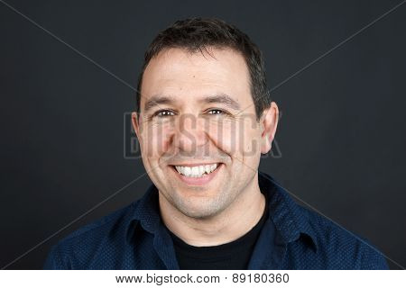 Friendly Man Smiling