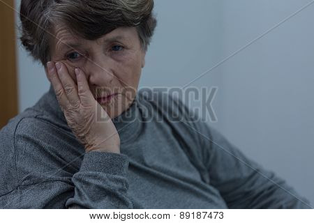 Senior Suffering For Depression
