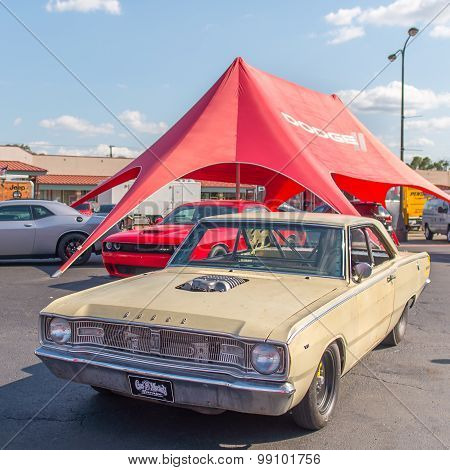 Richard Rawlings' Gas Monkey Garage 1967 Dodge Dart, Woodward Dream Cruise. MI