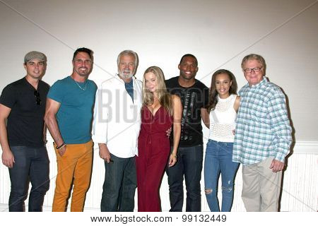 LOS ANGELES - AUG 16:  ACTORS at the Bold and Beautiful Fan Event Sunday at the Universal Sheraton Hotel on August 16, 2015 in Universal City, CA