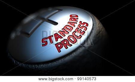 Standard Process on Black Gear Shifter.