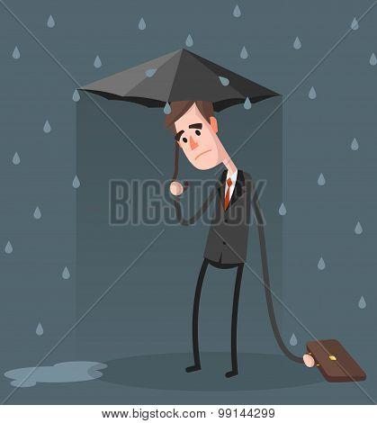 Unlucky Businessman