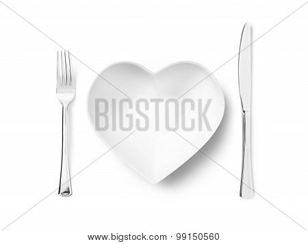 Love Healthy Eating - Stock Image