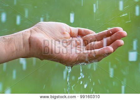 Hand In The Rain