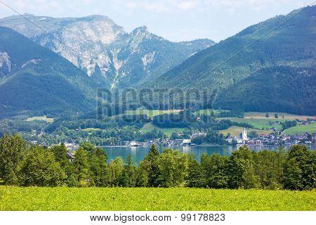 Sankt Wolfgang At Lake Wolfgangsee