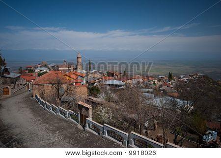 Signagi, old city in Kakheti, Georgia