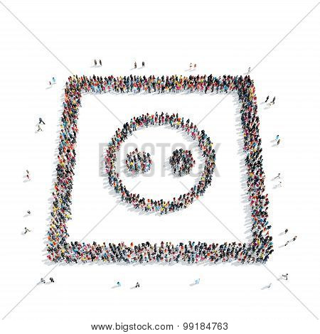 group  people  shape  Electrical socket