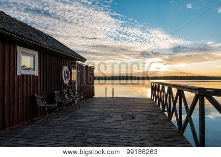 Archipelago On The Baltic Sea Coast