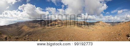 Panorama Of Lanzarote