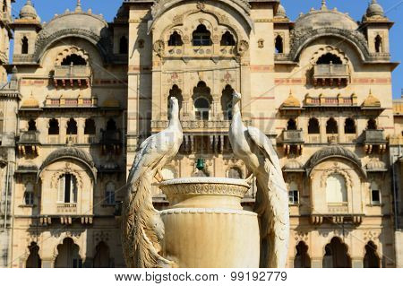 Example Of Richly Decorated Indian Architecture