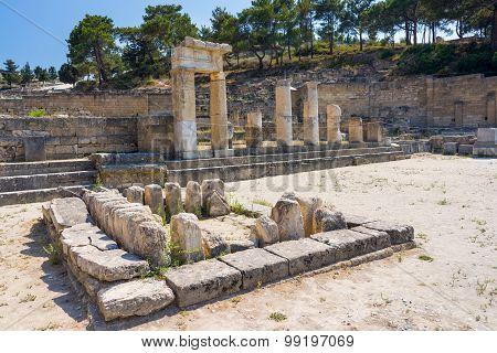 Ancient Kamiros Rhodes