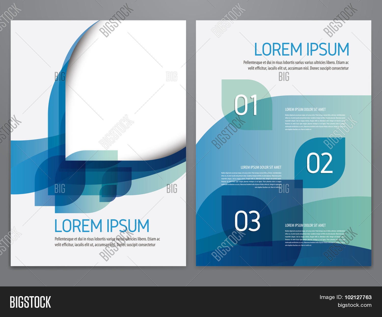 Brochure, Annual Report, Flyer, Vector & Photo | Bigstock