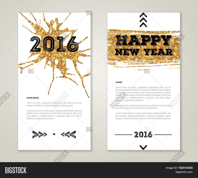 Cute New Year Vector & Photo (Free Trial) | Bigstock