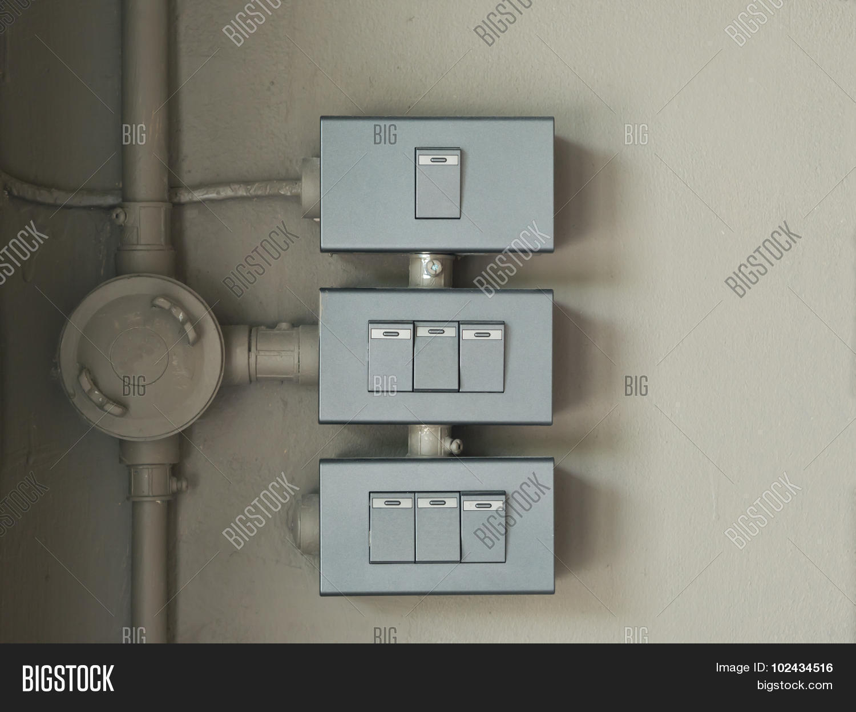Three Switch Lighting Image & Photo (Free Trial) | Bigstock