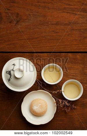 Harmony Of Tea And Sweets
