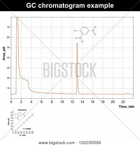 Gas Chromatography Chromatogram