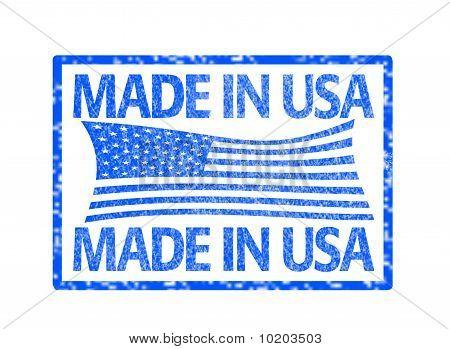 Made in USA-Briefmarke