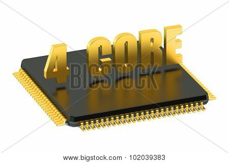 Cpu 4 Core Chip For Smatphone And Tablet