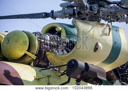 Engine Of Helicopter Mil Mi-17
