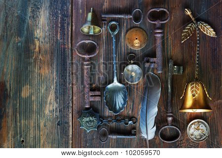 Vintage Objects Background
