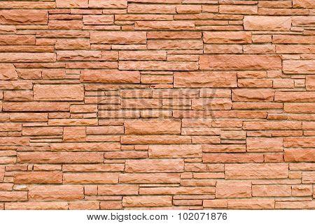 Sandstone Brickwork Wall