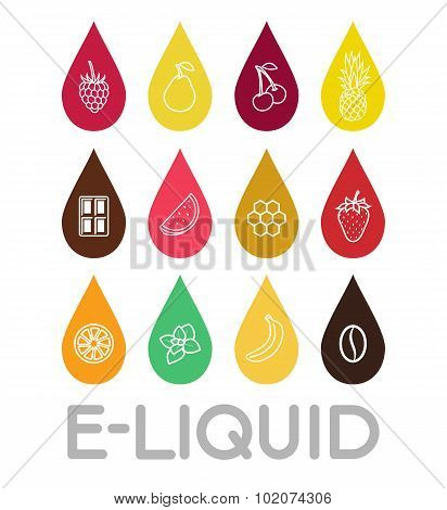 Icons Of  E-liquid.