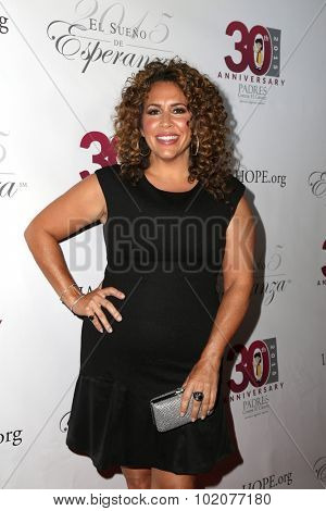 LOS ANGELES - SEP 17:  Diana-Maria Riva at the Padres Contra El Cancer's 15th Annual